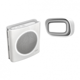 Dibi Flash Bianco -Campanello wireless + luce flash