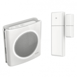 Dibi Conctat-Campanello wireless con flash e contatto porte / finestre