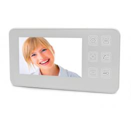 """Monitor LCD a colori da 4.3"""" touch per videocitofono a 4 fili Serie Nordström"""