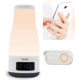 Mood-Campanello da ambiente con altoparlante bluetooth e lampada integrata