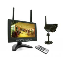 KIT videosorveglianza Wireless digitale IP , 4 canali