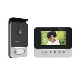 """Videocitofono Philips WelcomeEye Compact  4.3"""" a 2 fili con accesso RFID"""