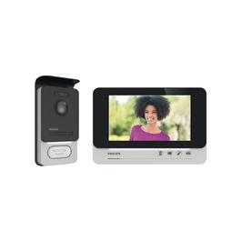 """Videocitofono Philips WelcomeEye Comfort 7""""a 2 fili con accesso RFID"""
