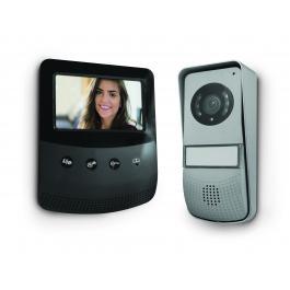 """Videocitofono con schermo da  4.3""""  a 2 fili e design ultra piatto"""