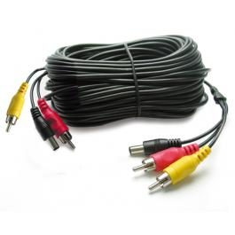 CAVO AUDIO VIDEO 2RCA+DC M/M